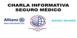 <p>CHARLA INFORMATIVA - SEGURO MÉDICO</p>