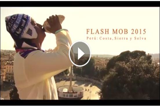 VIDEO OFICIAL DEL FLASH MOB 2015: Costa, Sierra y Selva, organizado por el Consulado del Perú en Roma