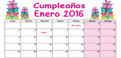 <p>SALUDO DE CUMPLEAÑOS A TODOS LOS ASOCIADOS EN EL MES DE ENERO 2016</p>