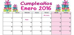<p>SALUDO DE CUMPLEA&Ntilde;OS A TODOS LOS ASOCIADOS EN EL MES DE ENERO 2016</p>