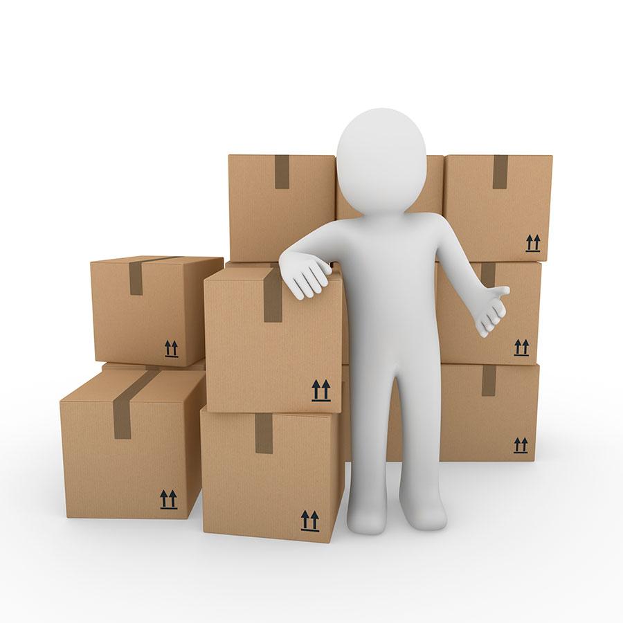 Servicios de mudanzas, traslados nacionales, embalajes y almacenamiento