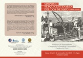 Actividad PUCP: Simposio del Sesquicentenario de Dos de Mayo