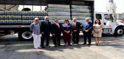 """AFDA – AFSDP ENTREGA DE DONACIONES PARA DAMNIFICADOS, """"# Una Sola Fuerza""""."""