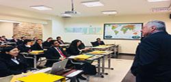 Presentación del Presidente del AFDA, Embajador Daúl Matute Mejía en la Academia Diplomática del Perú.